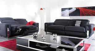canapé mobilier de canapé design en cuir relaxo mobilier de