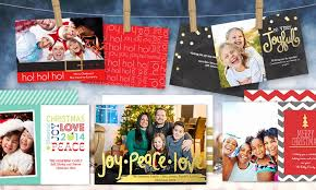 custom holiday cards staples groupon