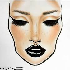 makeup artist sketchbook the detail put into the eyebrows and the fact they added