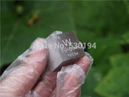 Periodic Table Tungsten Tungsten Metal In The Periodic Table Cube Side Length Is One Inch