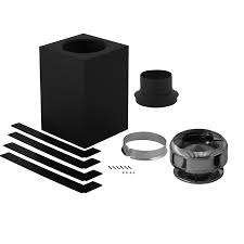 shop supervent 8 piece chimney pipe accessory kit for ceiling
