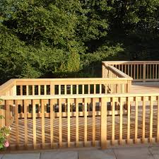 timber decking western red cedar decking hardwood decking