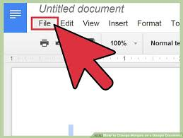 how to change margins on a google document 7 steps