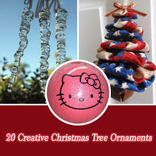 20 creative tree ornaments style motivation
