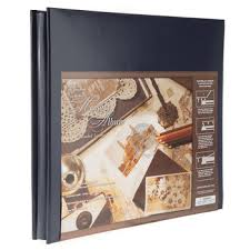 post bound photo albums navy solid leather post bound scrapbook album 12 x 12 hobby