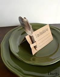 diy thanksgiving place cards the crafting