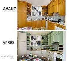 cuisine formica relooker 15 cuisines avant apres eleonore déco