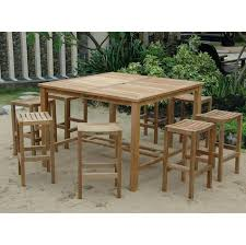 high table patio set high chair patio furniture wonderful outdoor high bistro table and