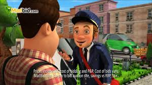 bid mad madbid s postman tv advert 2013
