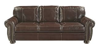 Sleeper Sofa Ashley Furniture by Ashley 5040438 Banner Traditional Sofa Coffee Leather Match Upholstery