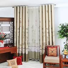 Blackout Door Curtains High End Chinese Style Bamboo Blackout Door Curtains