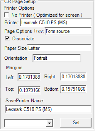 when a wide crystal report is converted to pdf format it is