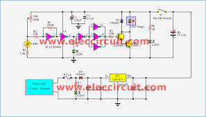 automatic led night light switch u2013 electronic projects circuits