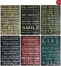 home decor plaques wall art design ideas combination word plaques wall art multi