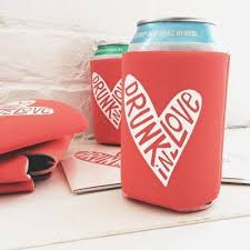 koozie wedding favor 20 easy wedding favor ideas mywedding