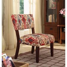 Large Accent Chair Homepop Multicolor Ikat Large Accent Chair Free Shipping Today
