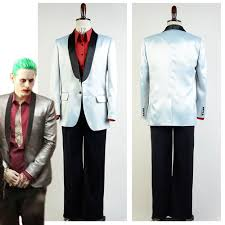 compare prices on jared leto joker squad costume online