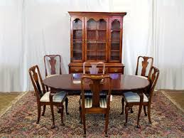 Queen Anne Dining Room Furniture by Appealing Queen Anne Cherry Dining Room Set 72 For Your Small