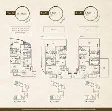 residence floor plan 2 bedroom naung residence
