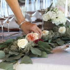 wedding flowers greenery floral arrangements wine country wedding flower centerpiece ideas