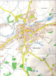 Kassel Germany Map by Guide To Bach Tour Schleiz Maps
