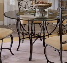 traditional round glass dining table glass kitchen table and chairs new appealing traditional round glass