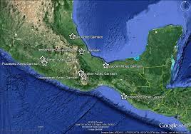 Aztec Empire Map Book Of Mormon Resources Aztec Garrisons