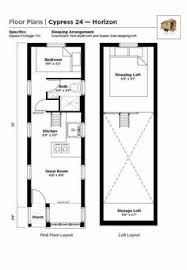 Tiny House Floor Plan Maker 8 By 24 Foot Tiny House On Wheels Layout Perfect For 2 Kids And