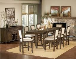 36 x 72 dining table medium brown modern counter height dining table w optional items