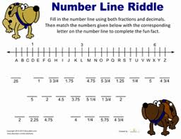 fraction riddles worksheet education com