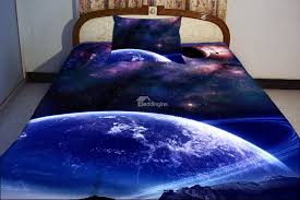 Space Bedding Twin Galaxy Outer Space Blue Bedding Twin Or Fullqueen Comforter Set