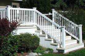 vinyl porch railing vinyl deck and railing vinyl porch railing