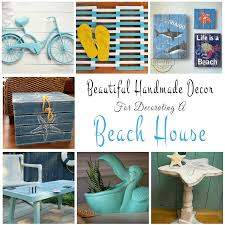beach theme home decor handmade decor ideas for decorating a beach house glitter u0027n spice
