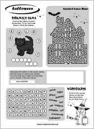 halloween printables english for kids