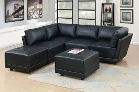 Black Leather Sleeper Sofa Furniture Black Modern Sleeper Sofa Leather Sectionals
