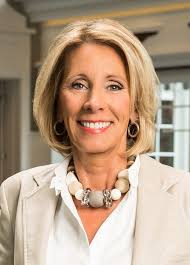 the honorable betsy devos secretary of education will serve as