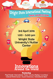 Wright State University Campus Map by Your Wright Way To Go Global February 2016 University Center