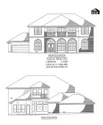5 Bedroom House Plans 2 Story by Plan No 3806 0112