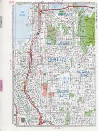 City And State Map Of Usa by Seattle Wa Road Map