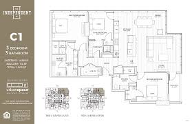 floors plans residences the independent
