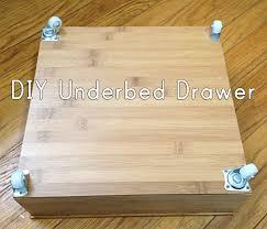 Under Bed Storage Ideas Best 25 Under Bed Drawers Ideas On Pinterest Bed Drawers Under