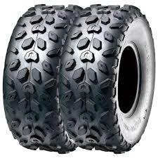set pair of 2 sunf 145 70 6 145 70 6 go kart u0026 atv knobby tires 4