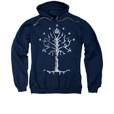 Lotr Home Decor Lord Of The Rings Tree Of Gondor Navy Hoodie Wbshop Com