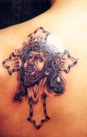 lattest new jesus christ tattoos and cross tattoos hits all