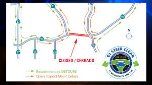 210 Freeway Map 91 Fwy Closure In Corona In Full Effect Could Lead To 4 Hour