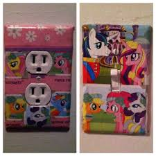 my little pony bedroom decoration i made for my daughters my