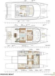 Catamaran Floor Plans by Catamaran