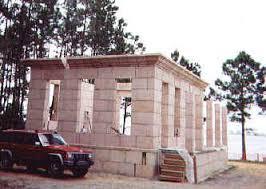 how to build a concrete block house building a concrete block house a small vacation villa in gulf