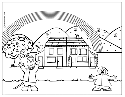 Day Coloring Page Rainy Day Coloring Pages