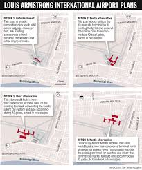 New Orleans Hotels Map by New Orleans Aviation Board Unveils 826 Million Overhaul Of Louis